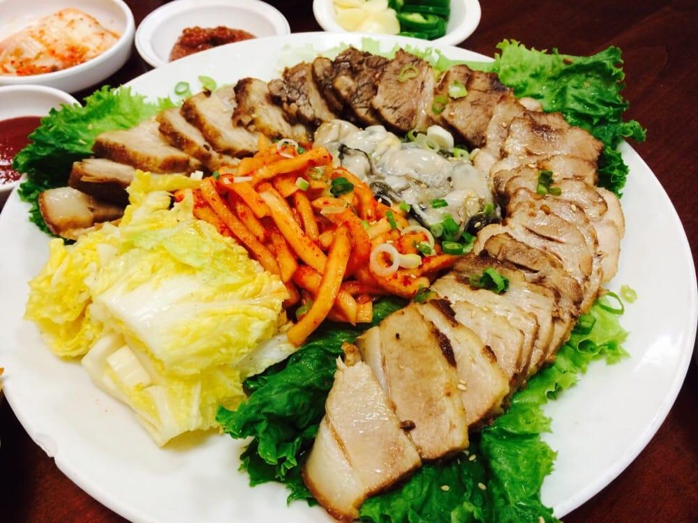 Woo chon 53 foto cucina coreana 11 aqua hart rd for Cucina coreana