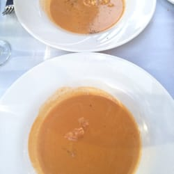 Torino Restaurants - Lobster bisque, they split it for us since we said that we would share, how nice :) - Metuchen, NJ, Vereinigte Staaten