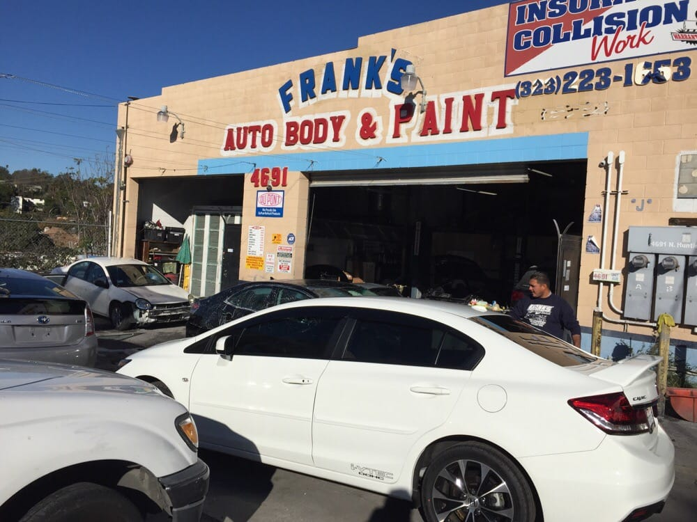 Frank s auto body paint body shops los angeles ca for Body paint auto