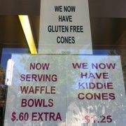Massey's Frozen Custard - Gluten free cones! - Carlisle, PA, Vereinigte Staaten