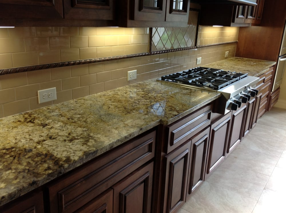 Jaguar granite kitchen countertops yelp for Kitchens with granite countertops