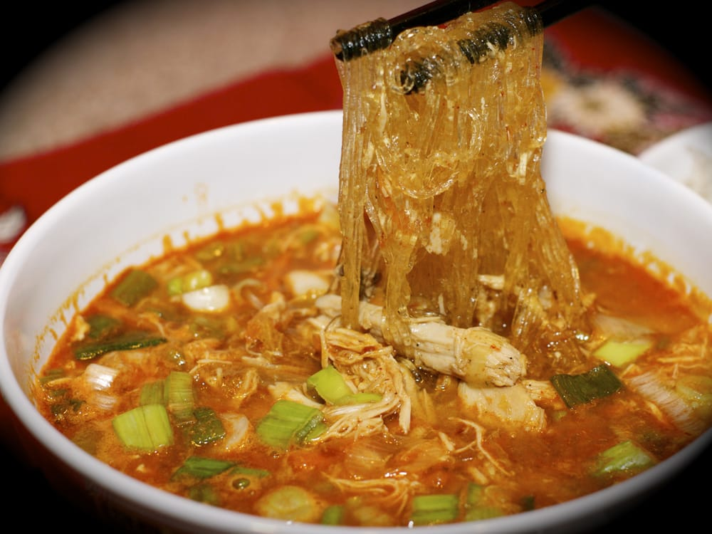 Korean chicken noodle soup - photo#12