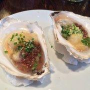 Coppa - Ostriche, oysters escabeche with verjus and pear puree - Boston, MA, Vereinigte Staaten