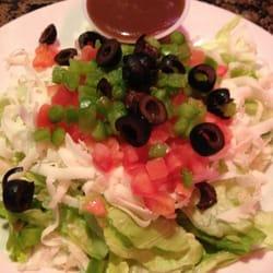 Broadway Ristorante & Pizzeria - Tossed Salad w/ Balsamic Vinaigrette - Altamonte Springs, FL, Vereinigte Staaten