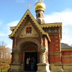 The Russian Church, Bad Homburg, Bad Homburg, Hessen, Germany