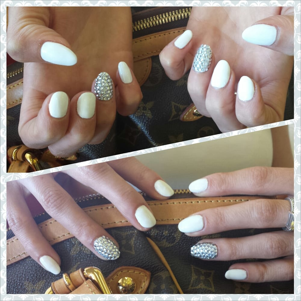 White Shellac Nails Shellac Color Flawless White