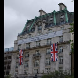 Ritz hotel during the jubilee 2012.