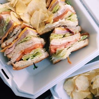 ... . We enjoyed our chicken club and marinated chicken breast sandwich