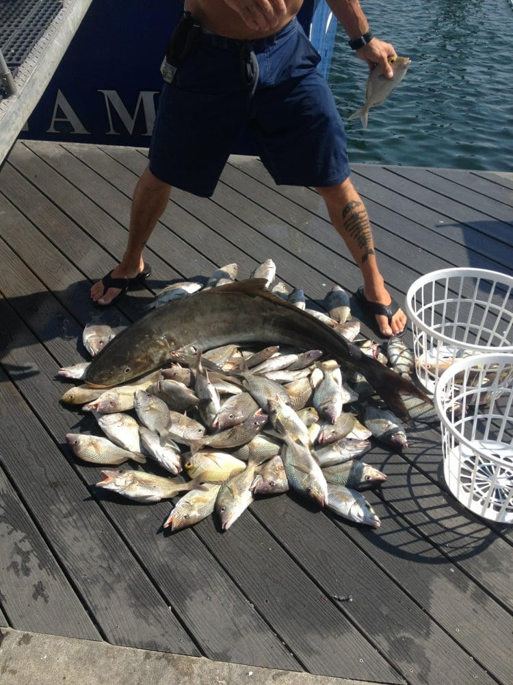 Gulfstream fishing party boat boating key west fl yelp for Party boat fishing florida