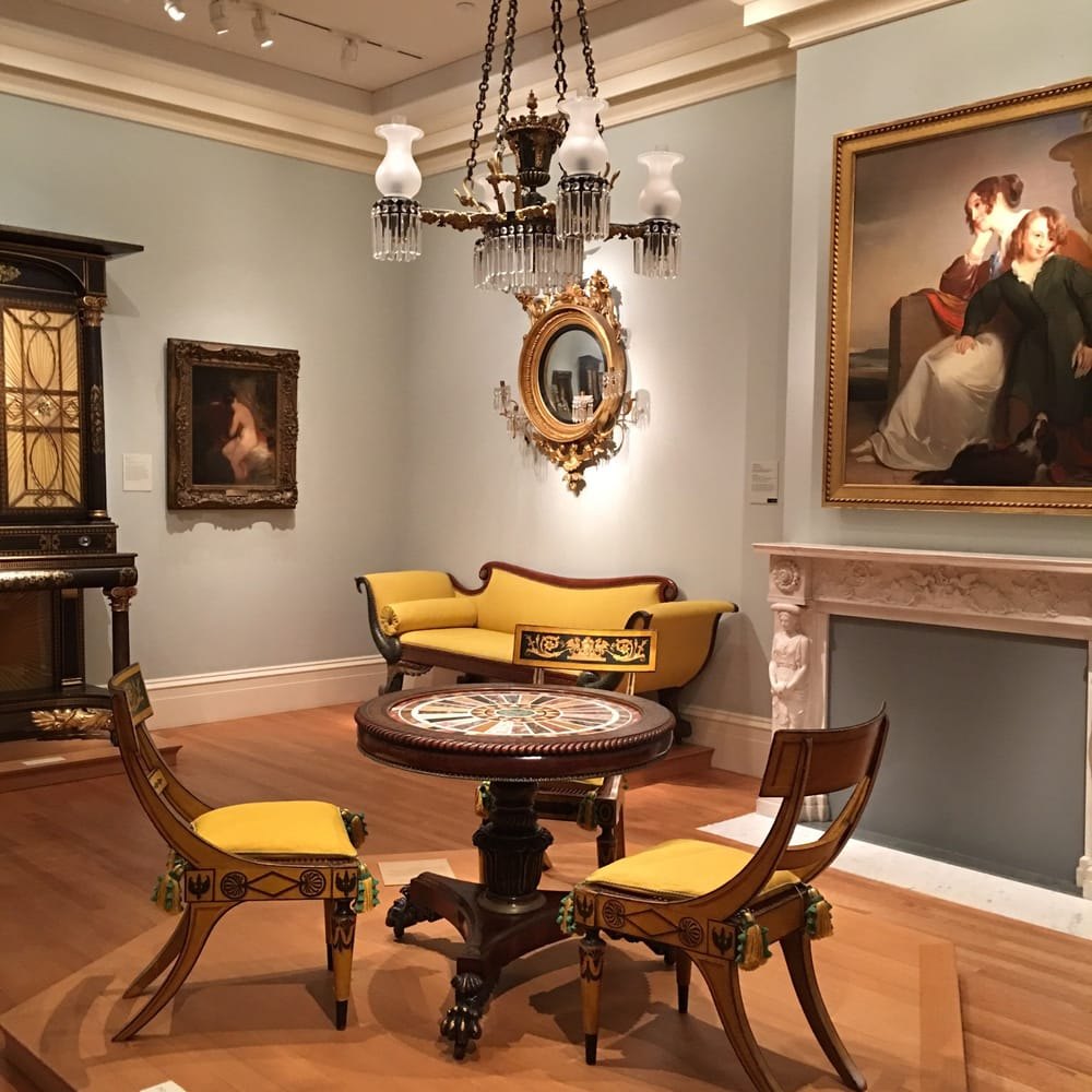 Metropolitan museum dining room