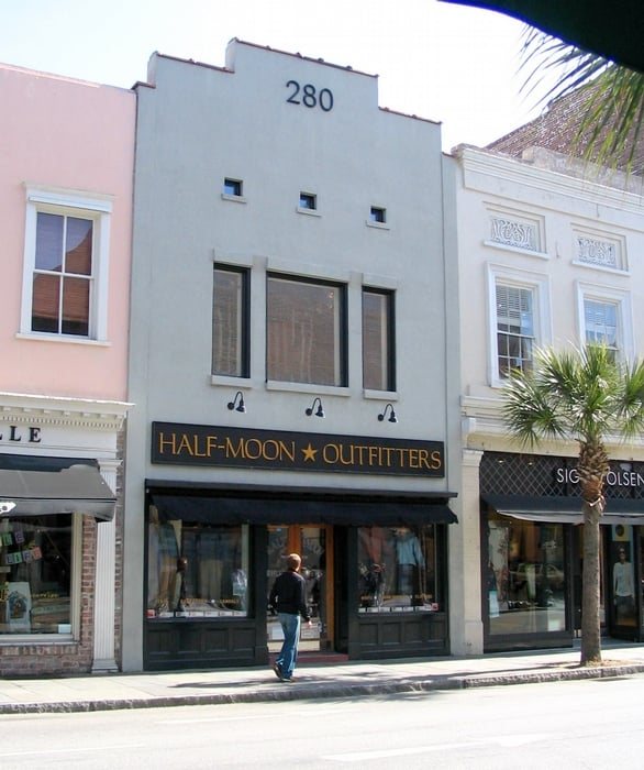 Half moon outfitters inc sports wear charleston sc yelp for Home goods charleston sc