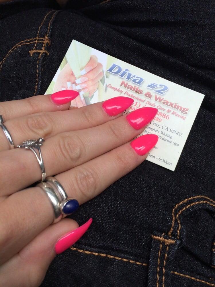 Diva nails 2 nail salons santa cruz ca reviews - Diva nails and beauty ...