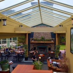Park Chalet Coastal Beer Garden San Francisco Ca United States New Paint Refinished Wood