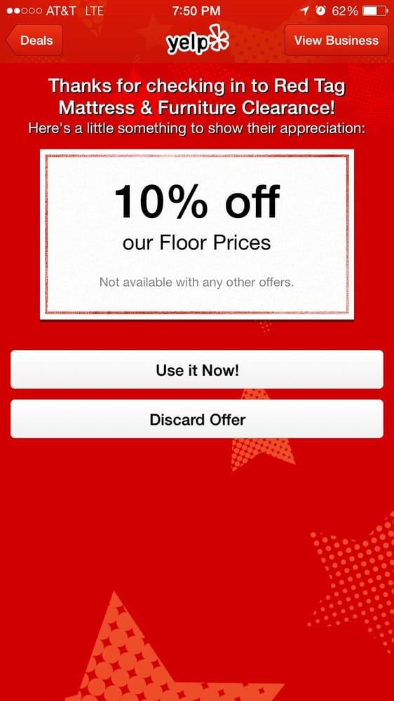 Red Tag Mattress & Furniture Clearance Mattresses