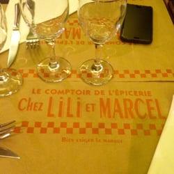 Chez Lili et Marcel - Paris, France. Bon app ;)