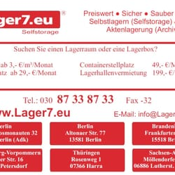 Lager7, Berlin