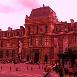 Station de metro Palais-Royal, Paris, France