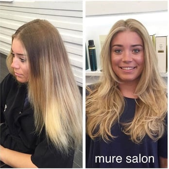 Mure salon 213 photos hair stylists yorkville new for 2 blond salon reviews