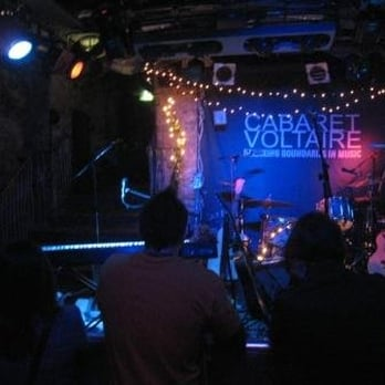 the stage at a gig in CabVol