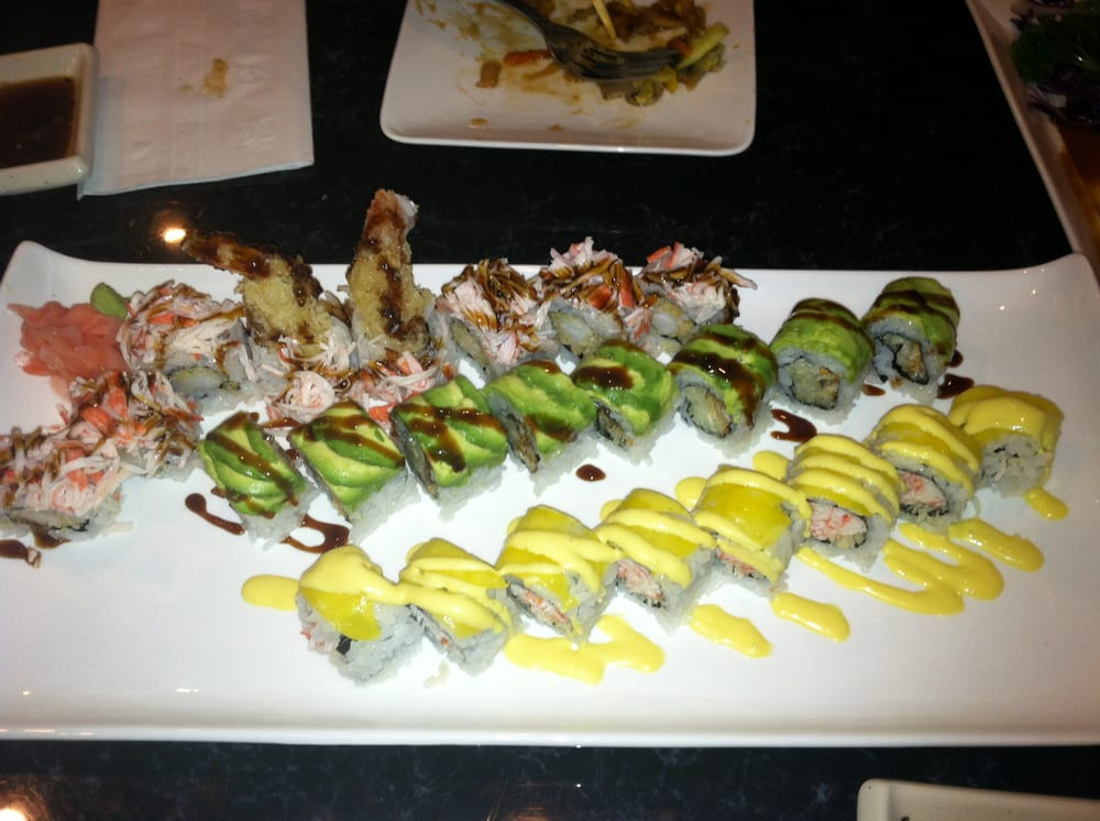 Sushi Masa offers the absolute BEST deals you are ever going to find on sushi. Enjoy ALL YOU CAN EAT sushi, appetizers, hibachi, ice-cream, and more for lunch at $ Now, if you're about that raw life, add sashimi to the list for the (all you can eat) dinner special priced at $/4().