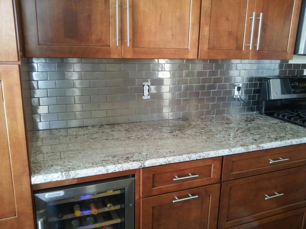Stainless steel tile backsplash yelp for Stainless steel tile backsplash reviews
