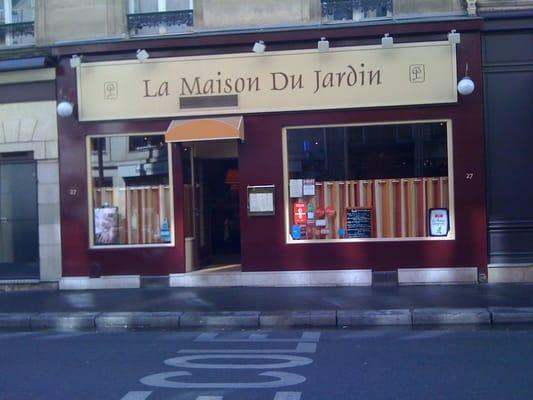 La Maison Du Jardin 6 Me Paris France Yelp
