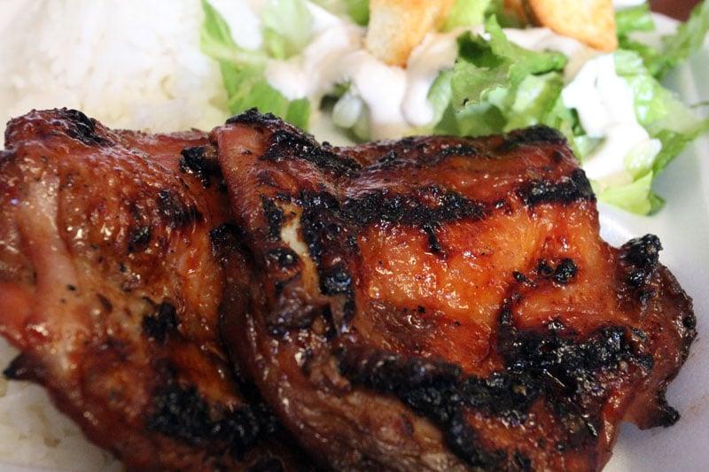 Ronnie's Kitchen - Honolulu, HI, United States. Korean BBQ Chicken