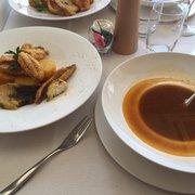Chez Fonfon - Marseille, France. La boullabaisse, excellente !