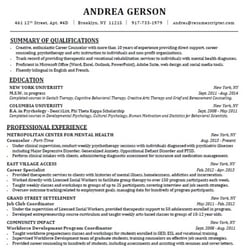 Resume writer, resume services in Portland, Oregon