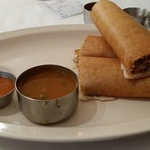 The Chennai Club - San Mateo, CA, United States. Dosa with Noodles and Chicken