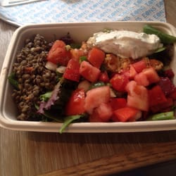 eons greek food for life new york ny united states salmon lentil