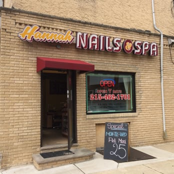 Hannah nails spa 55 photos nail salons 2253 s for 24 hour nail salon philadelphia