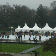 Bürgergarten Eislaufen