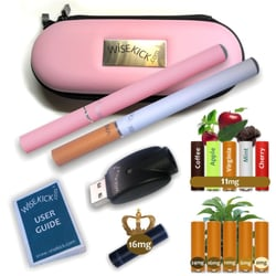 Wisekick e-Cigarette Zip Case Kit (Pink)