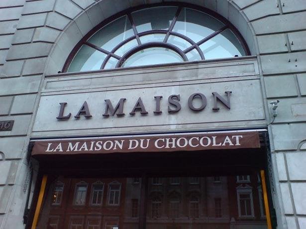 La maison du chocolat chocolate chocolatiers mayfair for La maison du carrelage blagnac