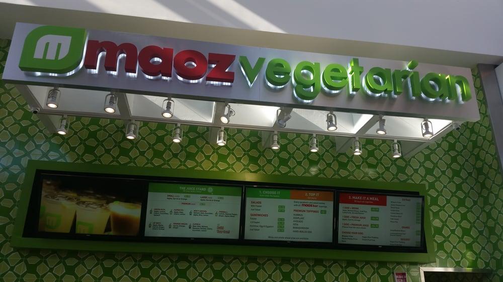 Maoz Vegetarian 13 Photos Vegetarian Restaurants Roosevelt Field Mall Garden City Ny
