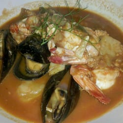 Shango Bistro and Wine Bar - Creole Bouillabaisse - shrimp, scallops, crab, mussels & catfish, seafood tomato broth, fennel, peppers, etc...23 - Buffalo, NY, Vereinigte Staaten