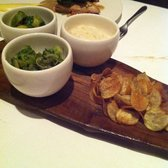 Game chips, Brussel sprouts with bacon, bread sauce