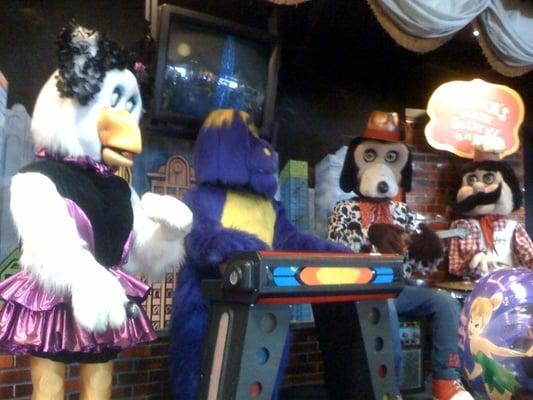 Animatronic band chuck e cheese chuck e cheese 39 s animatronic