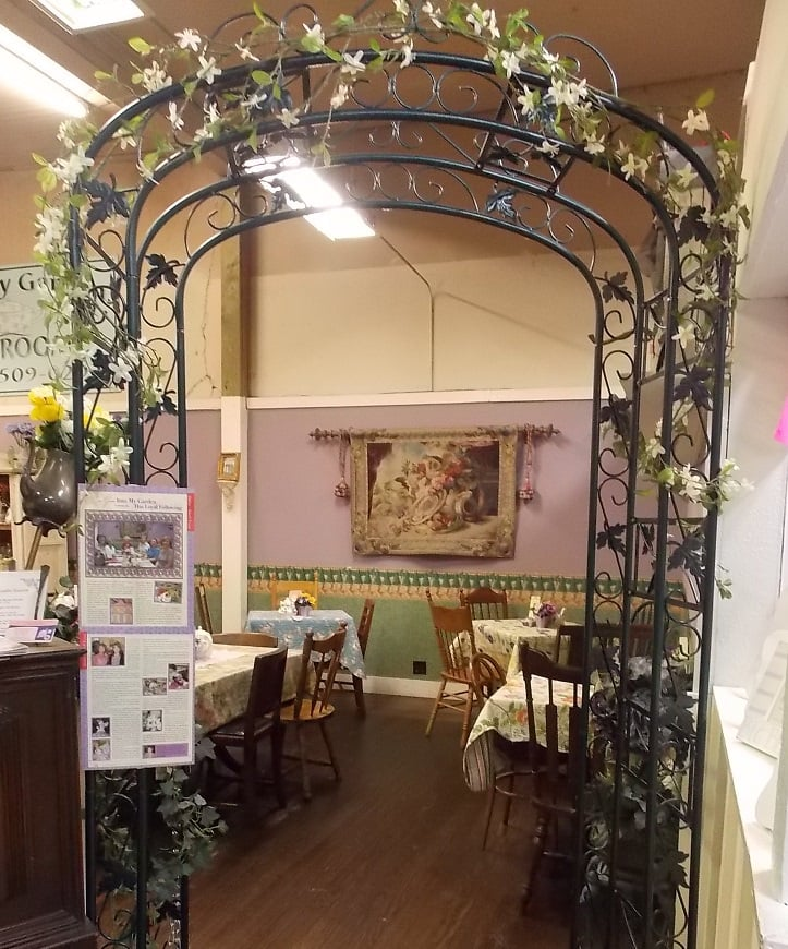 welcome to into my garden tea room cafe yelp