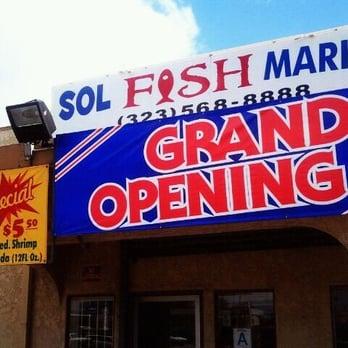 Sol fish market seafood markets green meadows los for Fish market los angeles