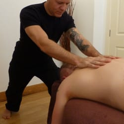 Stretching the back with Myofascial…