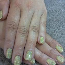 Shellac w/glitter done by Kathy Rea!… by Kristy S.