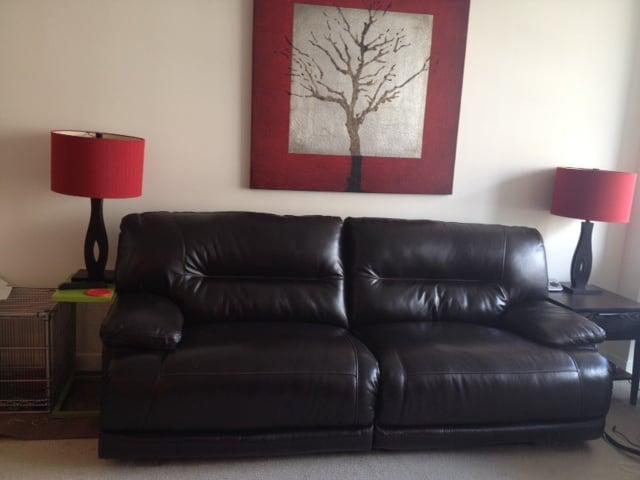 New ashley exhilaration sofa love it d yelp for Interiors modern home furniture woodbridge va