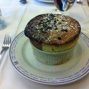Arlequin soufflé (half chocolate, half…