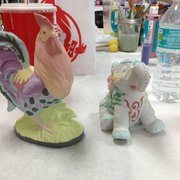 Pottery Works - My 2 pieces I finished today! So proud of myself! - Jacksonville, FL, Vereinigte Staaten