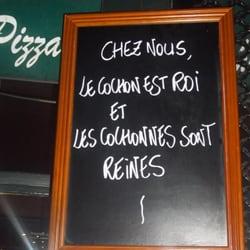 Peppone - Bordeaux, France. Chez Peppone, on est accueilli avec humour :)