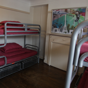 Modern dorm beds and great facilities