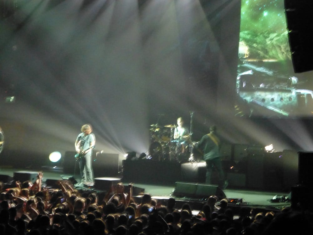 1STBANK Center - Broomfield, CO, États-Unis. Soundgarden @ 1st Bank Center, from section 115