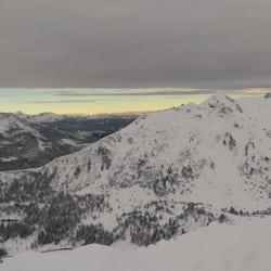 Das Alpenpanorama neben der…